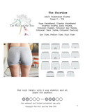 The Shorties - Mentionables {Underwear} - PDF Sewing Pattern