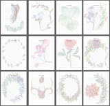 FREE Floral To Do List/Note Sheets