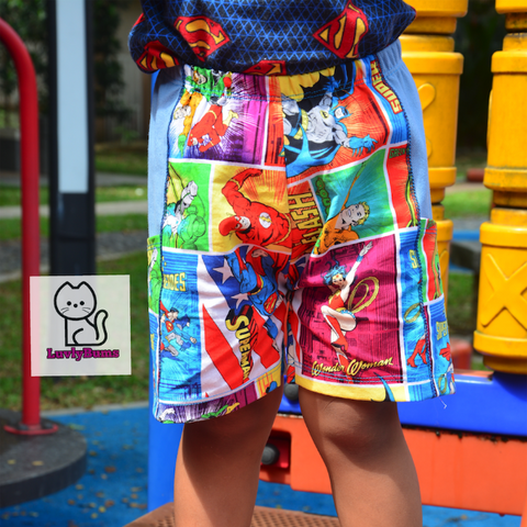 Abby's Spidermonkey Pants - Relaxed Fit Pants and Shorts (lined and unlined)