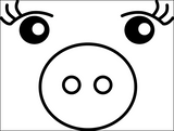 FREE Mercornimals SVG Face Files