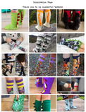 - Kids Cosplay Socks -