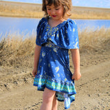 - Abby's Watercolor Dress -