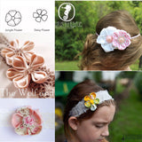 Jane's Backyard Jungle Flower (Hairbow, Headband, Clothing embellishment)