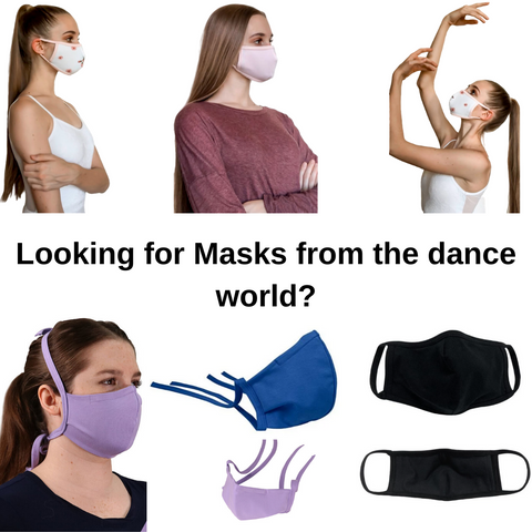 Dance Face Masks