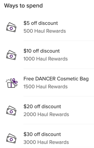 Dancers Haul Rewards