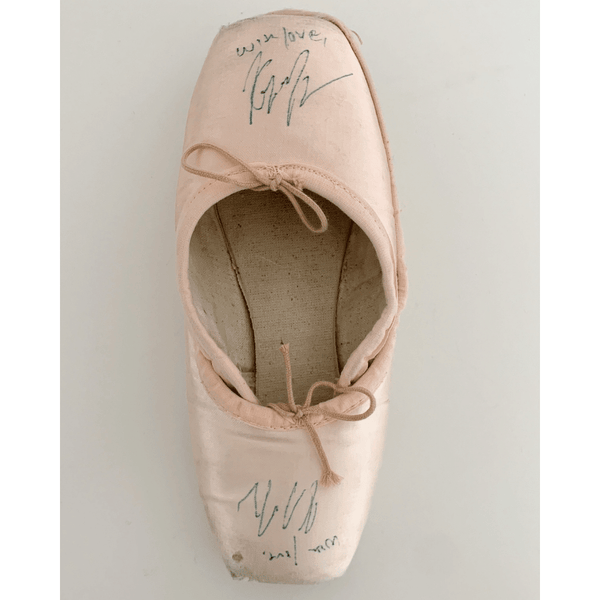 Autographed Kathryn Morgan Pointe Shoes