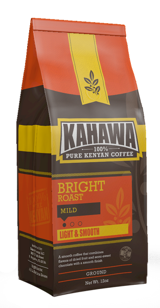 KAHAWA COFFEE - BRIGHT ROAST GROUND