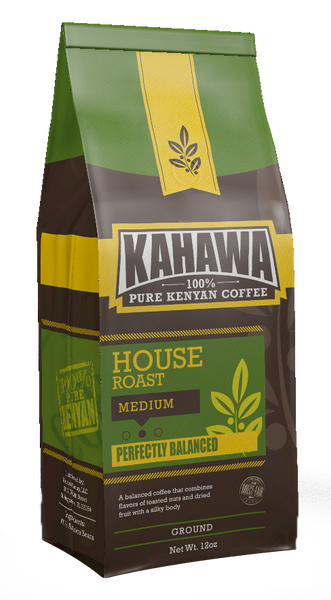 KAHAWA COFFEE - HOUSE ROAST GROUND
