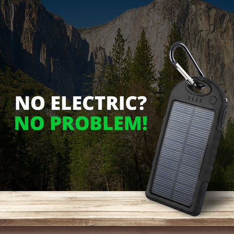 Outdoor Waterproof Solar Powerbank