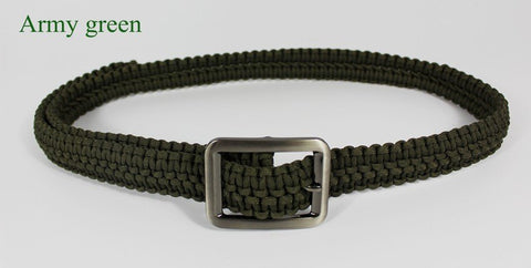Handmade Mil Spec Type III 7 Core Strand Survival ParaCord Belt