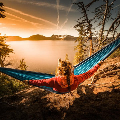 Portable Nylon Single Person Hammock