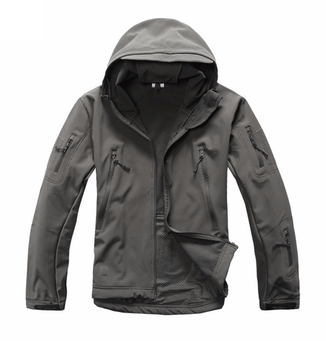 Shark Skin Softshell Waterproof Military Jacket