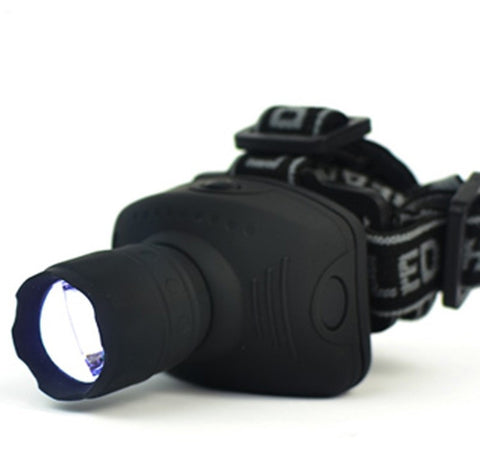 600 Lumens LED Headlamp For Camping Hunting Fishing