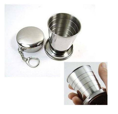 Steel Collapsing Travel Cup