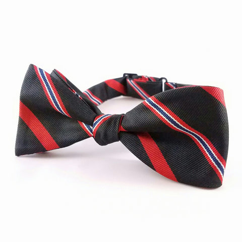 Bow Tie, With Regimental Colors