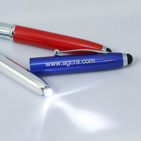 Pen With Light And Tablet Stylus