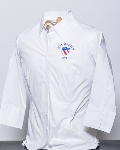 Women's Solid Dress Shirt