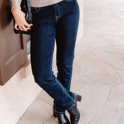 How to Find the Best Jean Inseam for a Tall Lady