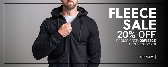 FLEECE SALE — 20% OFF