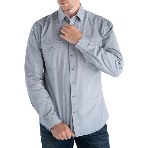 mens-tall-grey-button-shirt