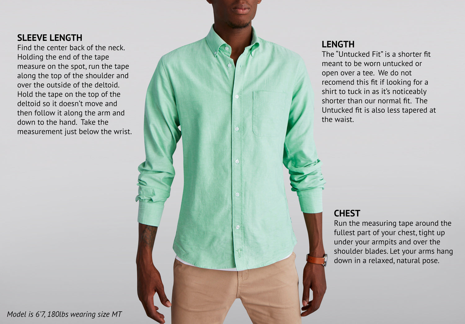 Casual Dress Shirt Tucked Or Untucked