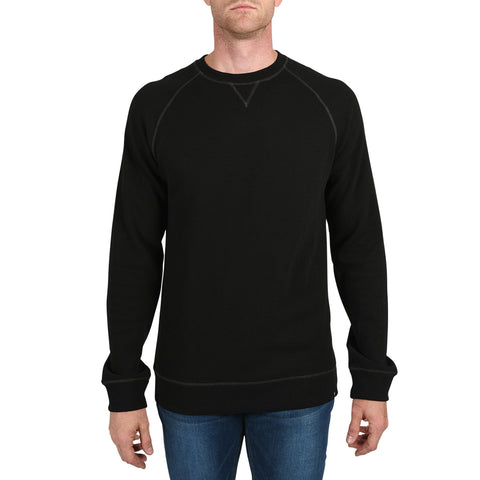 tall mens black heavy thermal