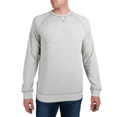 tall mens grey long sleeve heavy thermal