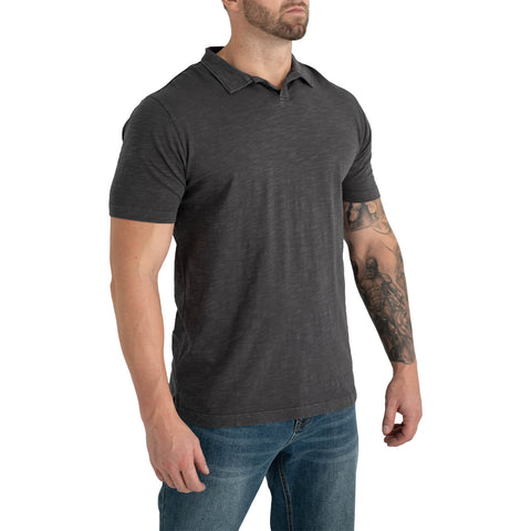tall mens grey polo