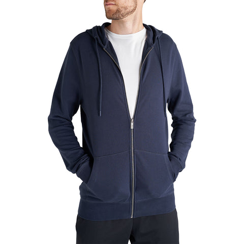 navy zip hoodie for tall men