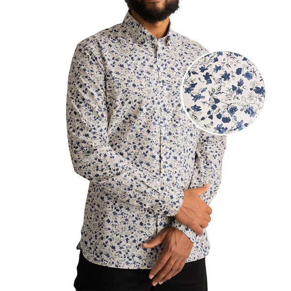 tall-mens-cotton-floral-dress-shirt