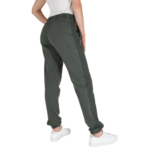 Women's Garment Dye Tall Sweatpants in Forest Green