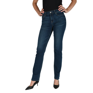 Slim Straight-Leg Tall Women's Jean in Classic Blue