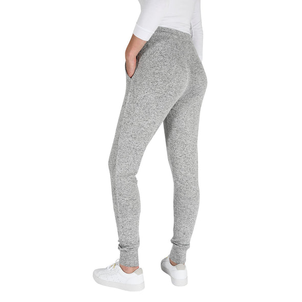 Women's Light-Weight PJ Lounge Pants in Grey Mix