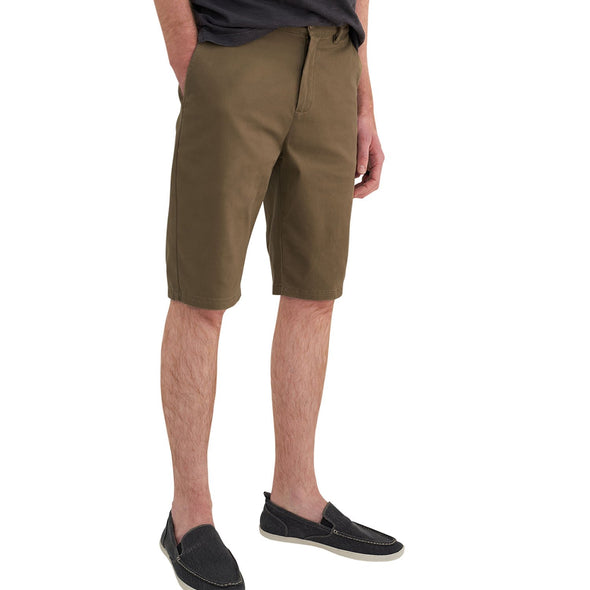 american-tall-shorts-army-color-front