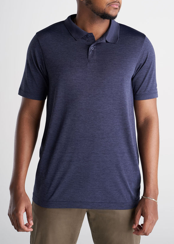 American_Tall_Mens_Performance_Golf_Polo_Inset_Sleeve_Bluemix-frontlong