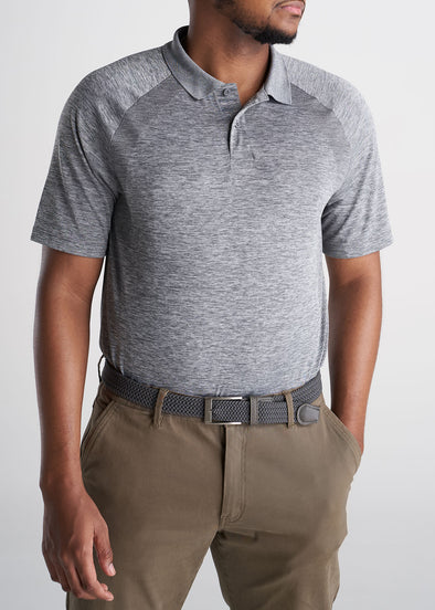 American_Tall_Mens_Performance_Golf_Polo_Raglan_Sleeve_Greymix-tucked