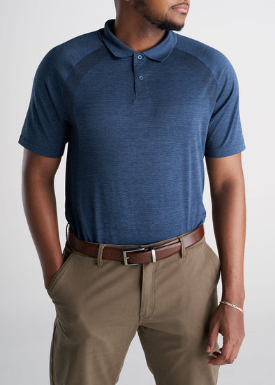 American_Tall_Mens_Performance_Golf_Polo_Raglan_Sleeve_Navymix-fronttucked