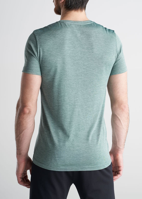 American_Tall_Mens_Performance_Tee_GreenMix-back
