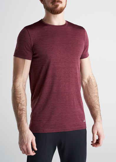 American_Tall_Mens_Performance_Tee_RustMix-front