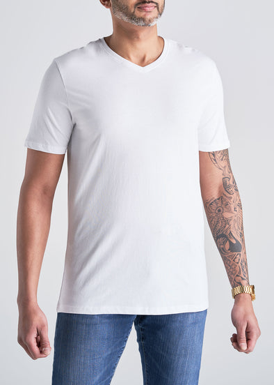 American_Tall_Mens_SS_Everyday_Cotton_Vneck_white-front