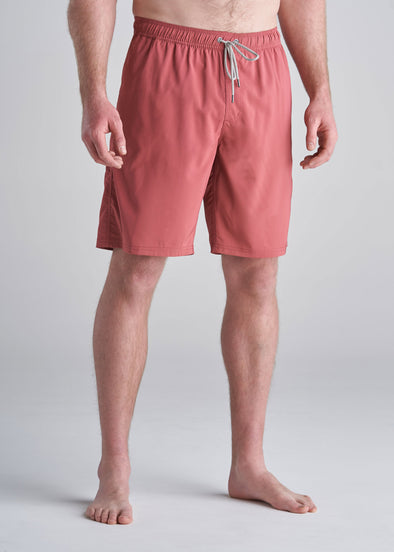 American_Tall_Mens_Solid_Swim_Trunk_Nantuket_red-front