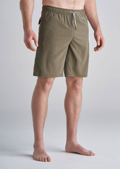 American_Tall_Mens_Solid_Swim_Trunk_olive-front