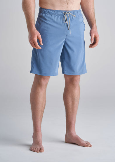 American_Tall_Mens_Solid_Swim_Trunk_pacificblue-front