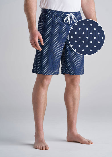 American_Tall_Mens_Swim_Trunk_Navy_Dot-front-swatch