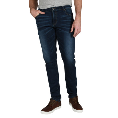 Carman TAPERED-FIT Collins Wash Tall Men's Jeans (Comfort Denim)