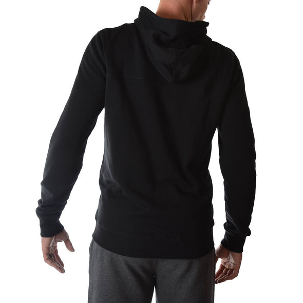 mens-tall-hoodies-black-fitted-zip-back