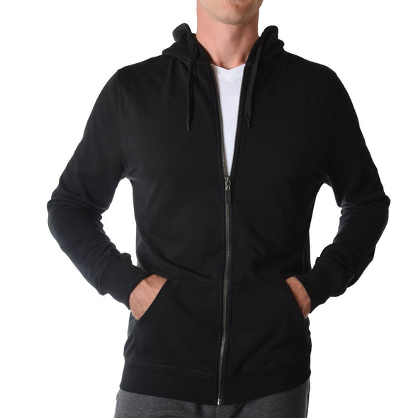 mens-tall-hoodie-black-fitted-zip-front