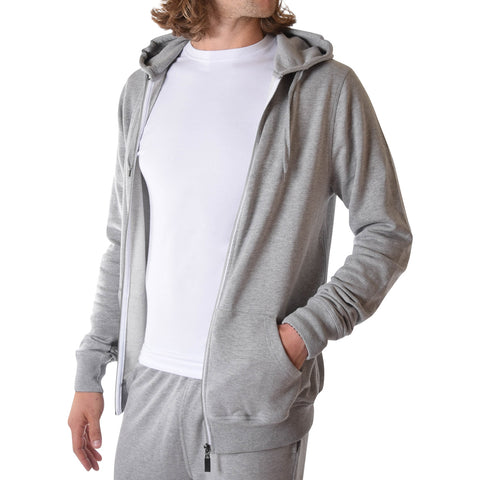 American Tall Hoodie In Grey Mix