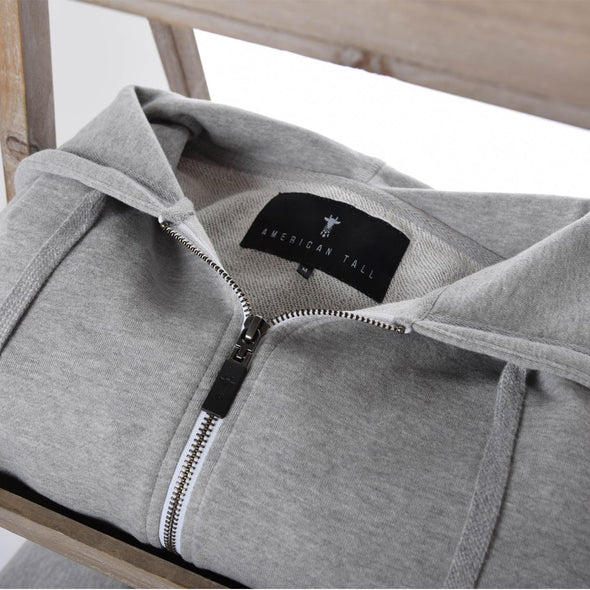tall-mens-hoodies-grey-fitted-zip-fabric