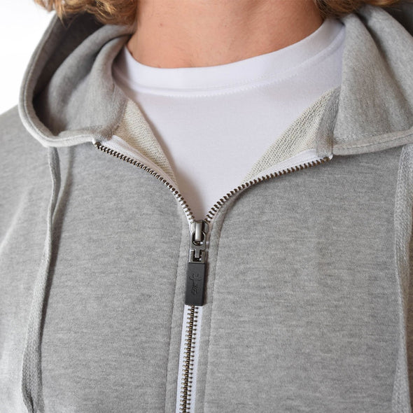 tall-hoodies-for-men-grey-fitted-zip-detail